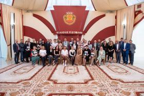 Торжественная церемония награждения победителей весенней сессии конкурса «Рублевая зона» 2021